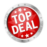 Button - Top Deal Stock Image