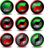 Button trading Stock Photos