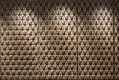 Button Tufted Headboard Texture Stock Photography