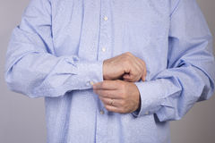 Button up Royalty Free Stock Photo