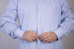 Button up Stock Photography