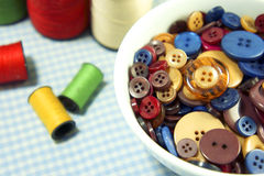 Button variety color Royalty Free Stock Image
