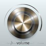 Button volume Stock Image