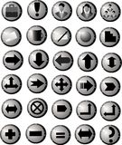 Button for web. Subject office. Thirty Royalty Free Stock Image