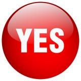 button yes иллюстрация вектора