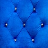 Buttoned on the blue Texture Royalty Free Stock Photography