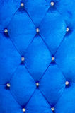 Buttoned on the blue Texture Royalty Free Stock Image