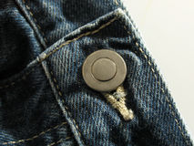 Buttoned jeans Royalty Free Stock Photography