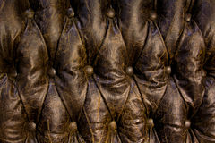 Buttoned leater pattern Royalty Free Stock Images