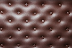 Buttoned leather  background Royalty Free Stock Photography