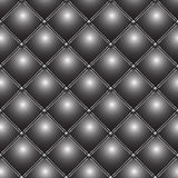 Buttoned metallic pattern Stock Photography