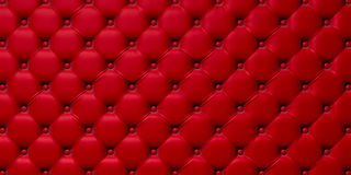Buttoned on the red 3d Texture Stock Images