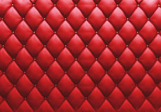 Buttoned on the red Texture. Repeat pattern Stock Images