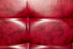 Buttoned on the red Texture. Repeat pattern.  Royalty Free Stock Images