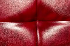 Buttoned on the red Texture. Repeat pattern.  Royalty Free Stock Photos