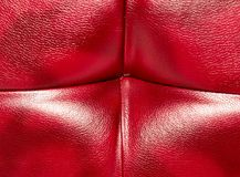 Buttoned on the red Texture. Repeat pattern.  Stock Photos