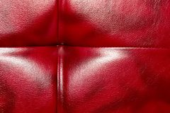 Buttoned on the red Texture. Repeat pattern.  Stock Image