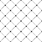 Buttoned rhomb seamless pattern Stock Image