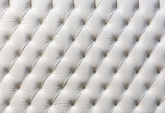 Buttoned white texture Royalty Free Stock Photo
