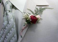 buttonhole ślub fotografia royalty free