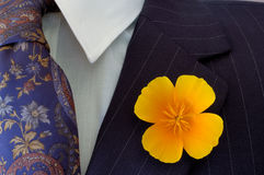 Buttonhole Royalty Free Stock Photo