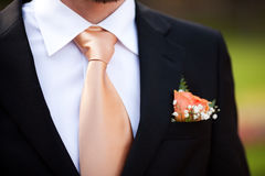Buttonhole Stock Photo