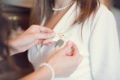 Buttonhole Stock Images