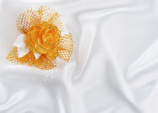 Buttonhole of the fiance Stock Photos