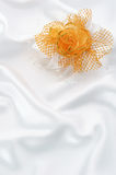 Buttonhole of the fiance Stock Images