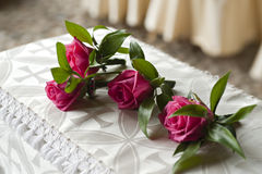 Buttonhole flowers Stock Images