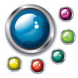 Buttons vector illustration
