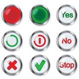 Buttons Stock Photos