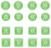 Buttons 2. Vector illustration of web 2.0 style buttons Stock Photo