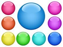 Buttons-2 moderne illustration de vecteur