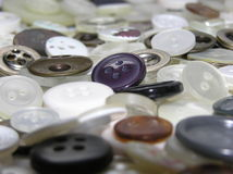 Buttons. Photo of buttons Stock Photo