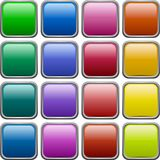 Buttons. royalty free stock images
