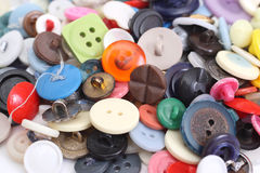 Buttons. Different colors and shades buttons Royalty Free Stock Photography