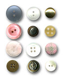 Buttons. Image of buttons on white background Stock Image
