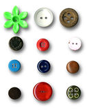 Buttons. Image of buttons on white background Royalty Free Stock Image