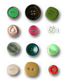 Buttons. Image of buttons on white background Royalty Free Stock Photo