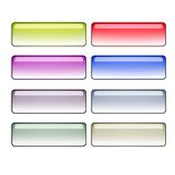 Buttons. A set of varies colors buttons Royalty Free Stock Photography