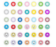 Buttons. Different colos buttons. illustrations work Royalty Free Stock Image