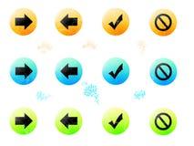 buttons иллюстрация вектора