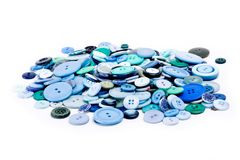 Buttons. Bunch of Buttons stock image