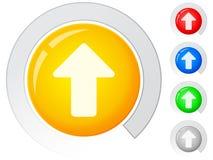 Buttons arrow up Stock Photos