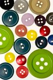 Buttons background. Buttons on a white background Stock Photos