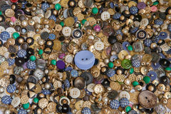 Buttons. Background of various colourful buttons Royalty Free Stock Photo
