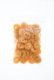 Buttons in bag Stock Photos
