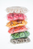 Buttons in bag Royalty Free Stock Images