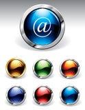 buttons blankt Arkivfoton